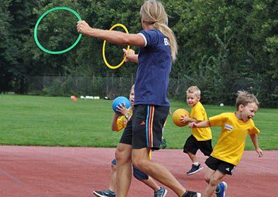 Ballschule Frey, Outdoor